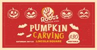 Family Pumpkin Carving @ Roots Pizza