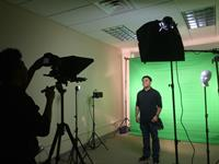C Sharp Video Productions LLC green screen teleprompter narrative studio Milpitas Silicon Valley