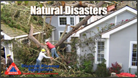 We are here to help with Natural Disasters