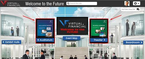 Our virtual meeting rooms, exhibits, and trainings