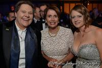 Visiting with Representative Nancy Pelosi  at an HRC SF Gala