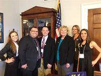 Visiting CA Representative Zoe Lofgren's office 2013