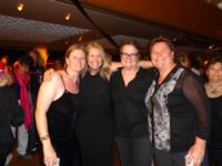 With Kristen Perry and Sandra Stier (Prop 8 Plaintiffs) on the Olivia Equality Cruise 2013