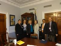 Visiting Zoe Lofgen's office 2015