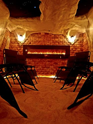 The Himalayan Salt Cave Sanctuary - A place for rest, relaxation & meditation.