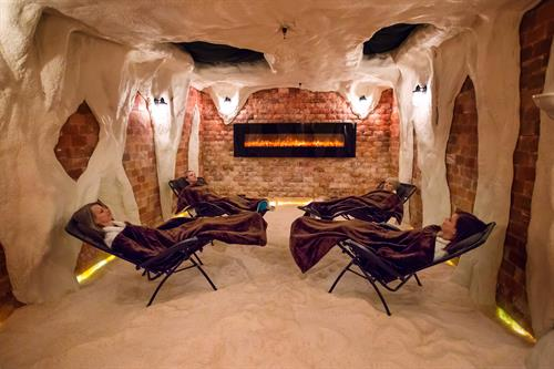 Halotherapy (Dry Salt Therapy) Session