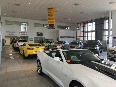 Visit us for the latest Chevy and Buick models.