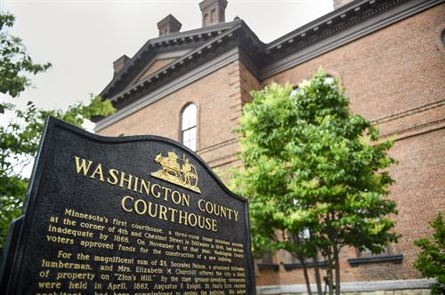 Washington County Historic Courthouse Historical Markers