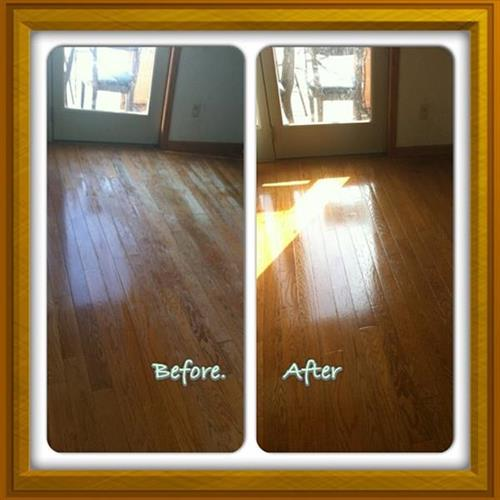 Floor Renewal Before/After