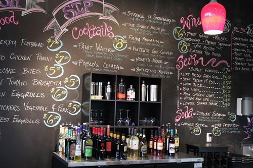 Full Bar and Appetizer Menu!!