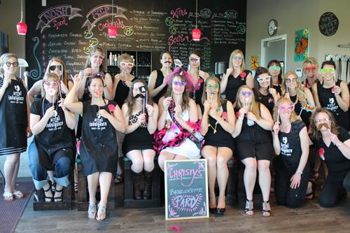 We LOVE Bachelorette Parties!!