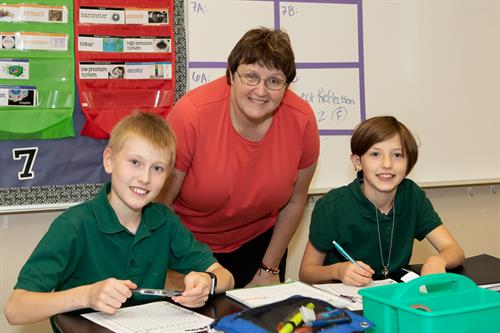 Middle School Math program receives ringing endorsements from students and parents alike.