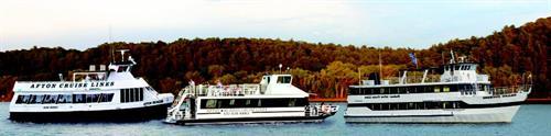 Afton Hudson Cruise Lines Fleet