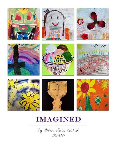 Child's Artwork Gallery Print