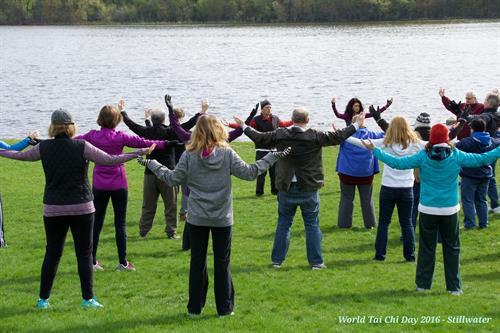 Tai Chi by the St Croix River