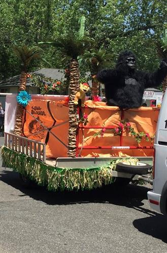 Parades go bananas for Gorilla Dumpster Bag!