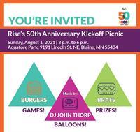 Rise 50th Anniversary Kickoff Picnic