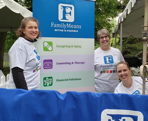 FamilyMeams Booth at Twin Cities Pride Festival