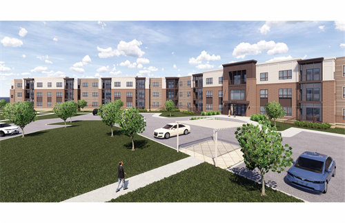 Exterior rendering of Zvago Stillwater