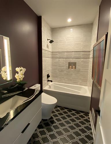 Guest Bath gests an Updo!