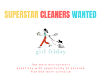 Girl Friday - Cleaning Services