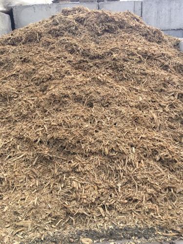 Natural Mulch Options: Double Shredded Hardwood, Blonde Shredded, Western Red Cedar, and MYP Garden Mulch