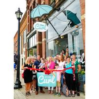 RIBBON CUTTING- Uptown Curl