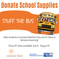 Support Local Kids – Donate School Supplies or Volunteer for Stuff the Bus