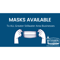Pick Up Masks on Tuesday & Wednesday at the Chamber Office