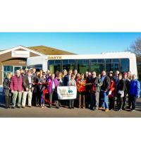Chamber celebrates Community Thread's Connector Bus