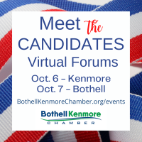 Meet The Candidates - Kenmore City Council - Virtual Event