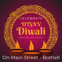 UTSAV Diwali on Main Street, Bothell