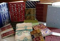 Recycled cotton paper notebooks