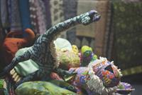 Stuffed toys from MESH, a charitable partner