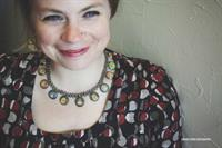 Sterling silver necklace with exclusive Sankara blockprint top