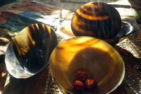 Buffalo horn tableware