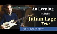 Julian Lage Trio Feb. 16 2018