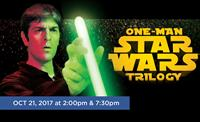One Man Star Wars Oct. 21 2017