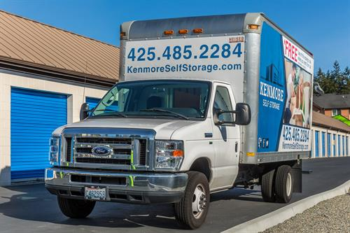 Free Use of Truck W/Storage Rental