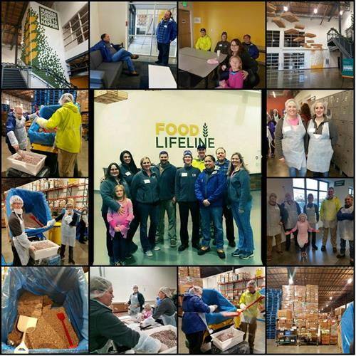 RGI Volunteer Work at Food Lifeline