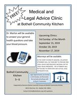 FREE Legal & Medical Advice Clinic
