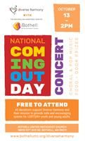 National Coming Out Day Concert