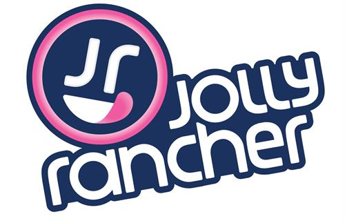 Logo for Jolly Rancher, a global hard candy manufacturer