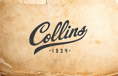Logo for Collins, a classic purveyor of accessories for the barware industry