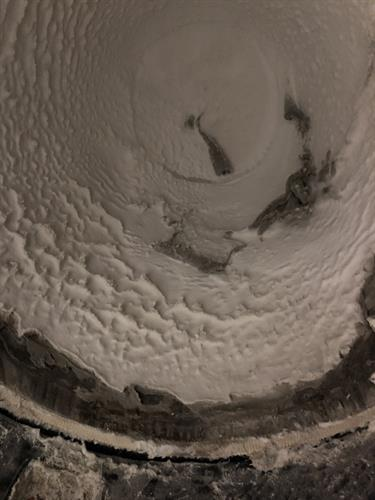 Before photo of a commeciral duct cleaning job.