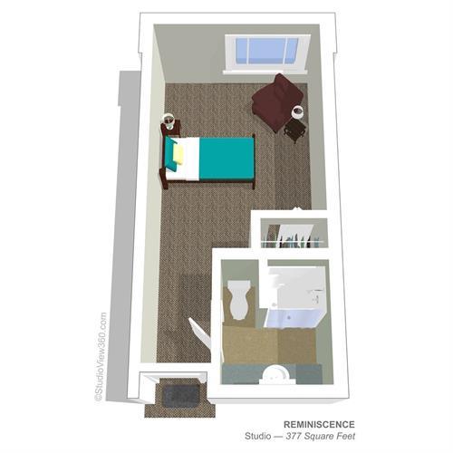 Studio Suite Floorplan