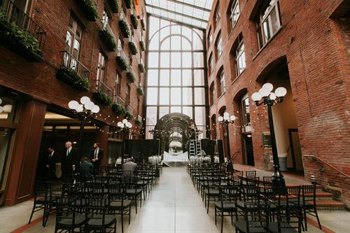 Downtown Seattle Wedding