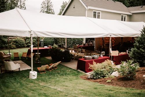 Backyard Party at a private residence; Bellevue, WA