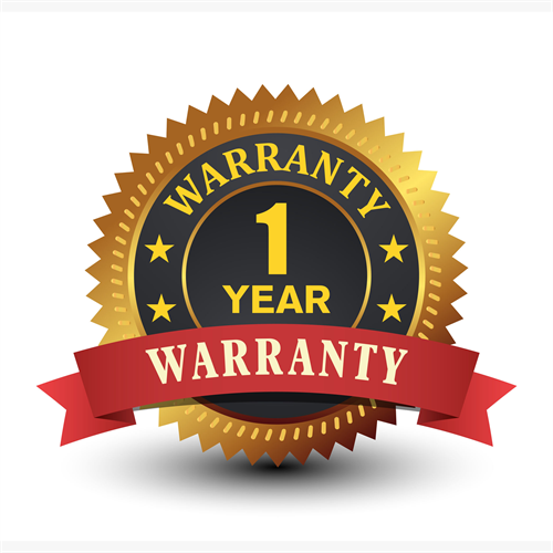 One Year warranty on all our Microsoft Solutions