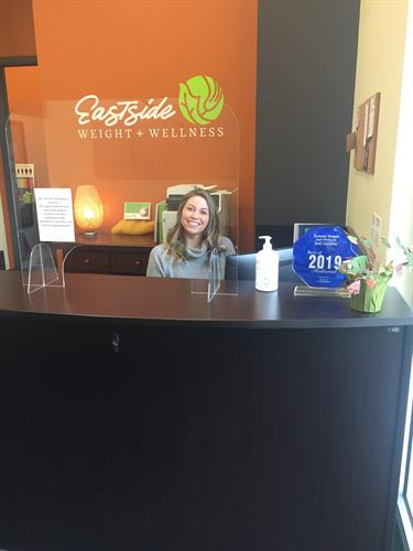 Lyndsie, our friendly Administrative Assistant keeps everything running smoothly!